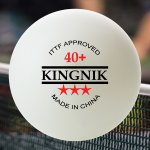 KINGNIK 40+ 3 STAR POLY BALLS - PACK OF 24 (4 BOXES)